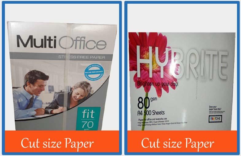 Cut size Paper2
